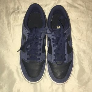 Dark blue nike air forces